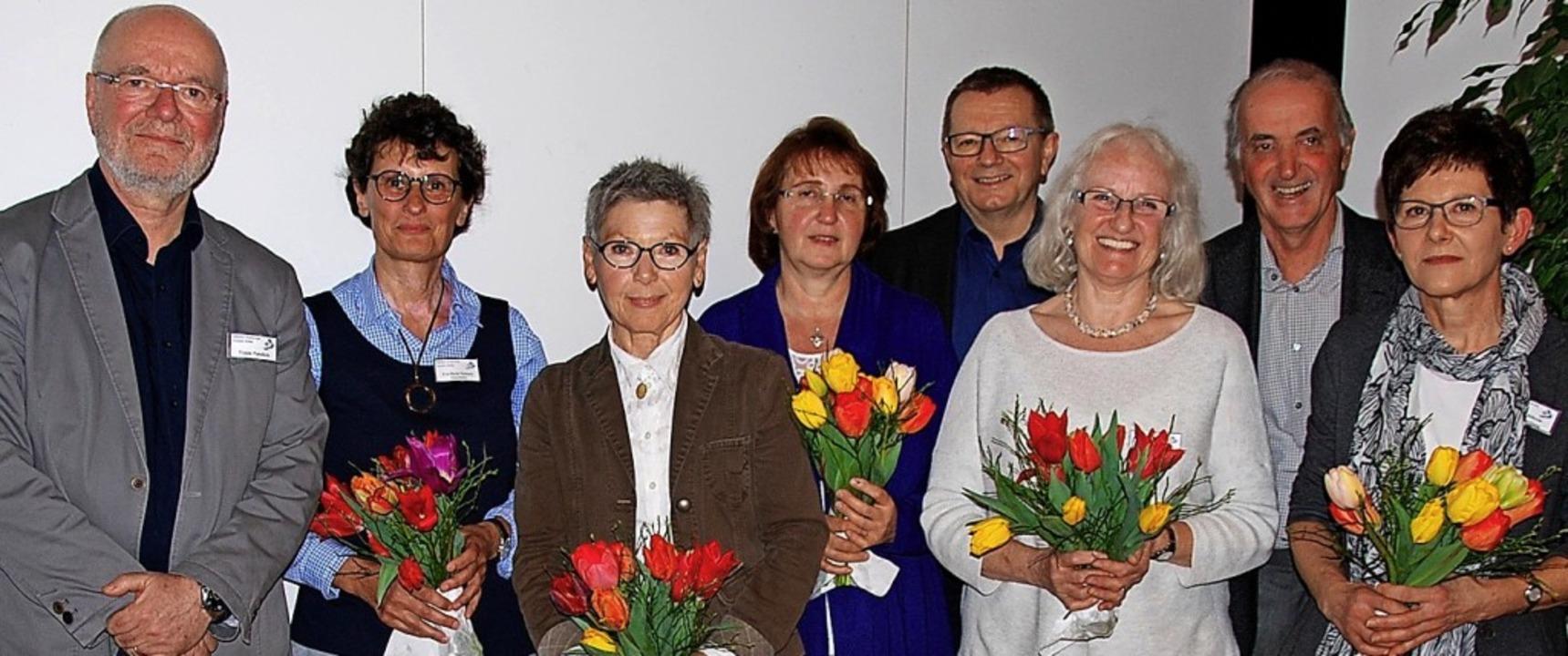 Neuer Vorstand der Ambulanten Hospizgr...ck, Wolfgang Gottschalk, Silvia Böheim  | Foto: Hospizgruppe