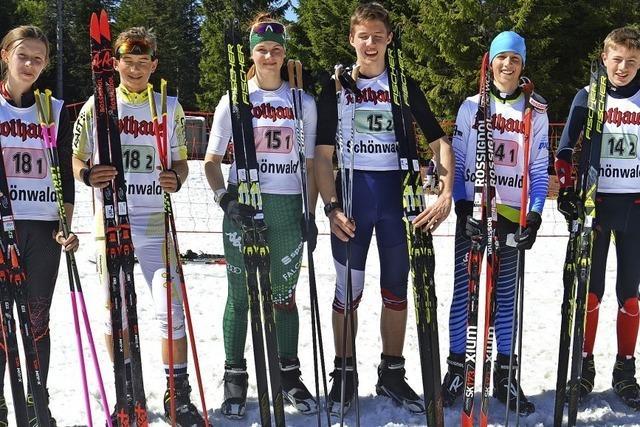 Das letzte Biathlonrennen der Saison