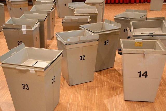 Stadt Rheinfelden sucht noch Wahlhelfer für den 26. Mai
