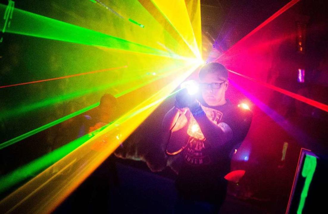 Was ist Lasertag?    Foto: dpa