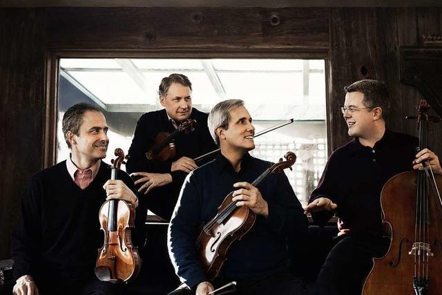 Spätherbst auf 16 Saiten: Das Emerson String Quartet bei den Freiburger Albert-Konzerten