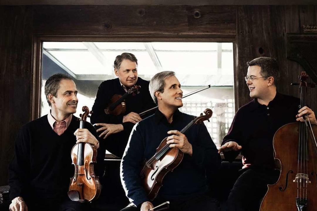 Klingende Legende: das Emerson String Quartet  | Foto: Lisa-Marie Mazzucco