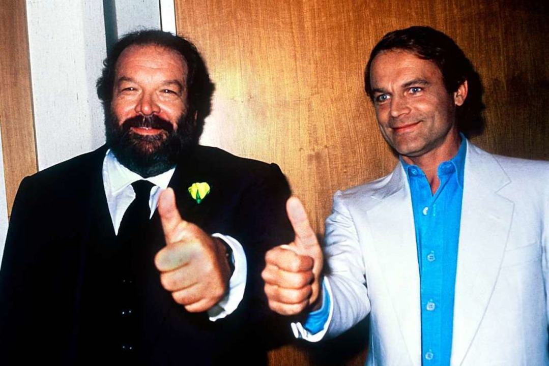 Bud Spencer und Terence Hill  | Foto: dpa