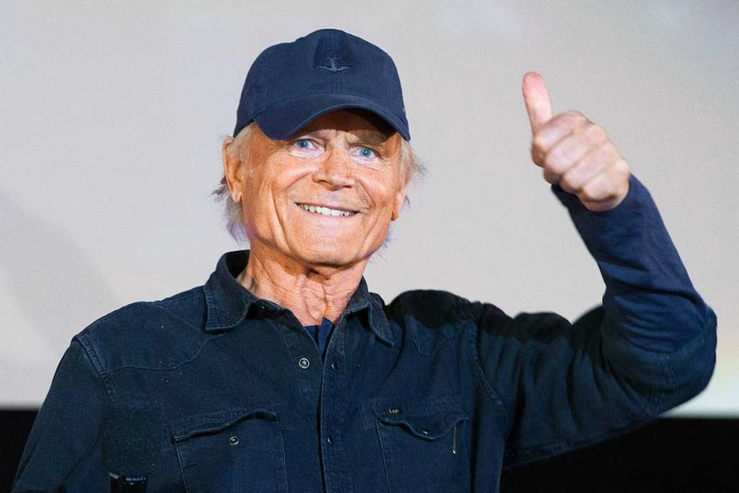 Terence Hill im August 2018  | Foto: dpa