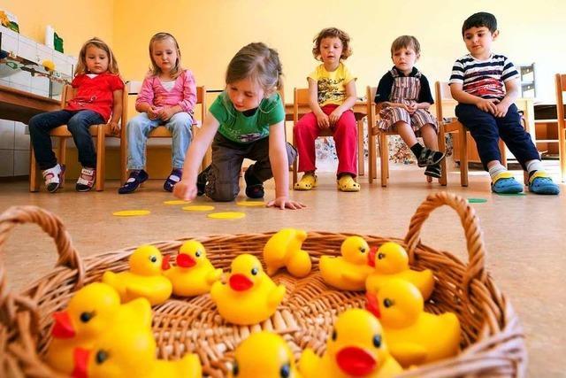 Kinderreiche Familien im Glottertal sollen weniger Kindergartengebühren zahlen