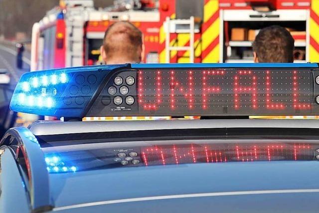 Drei Leichtverletzte und 13 000 Euro Sachschaden auf der B 317