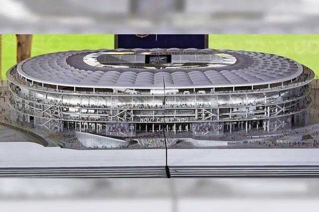 Die neue Kathedrale des Fußballs