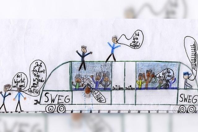 Ärger über einen häufig überfüllten Zug