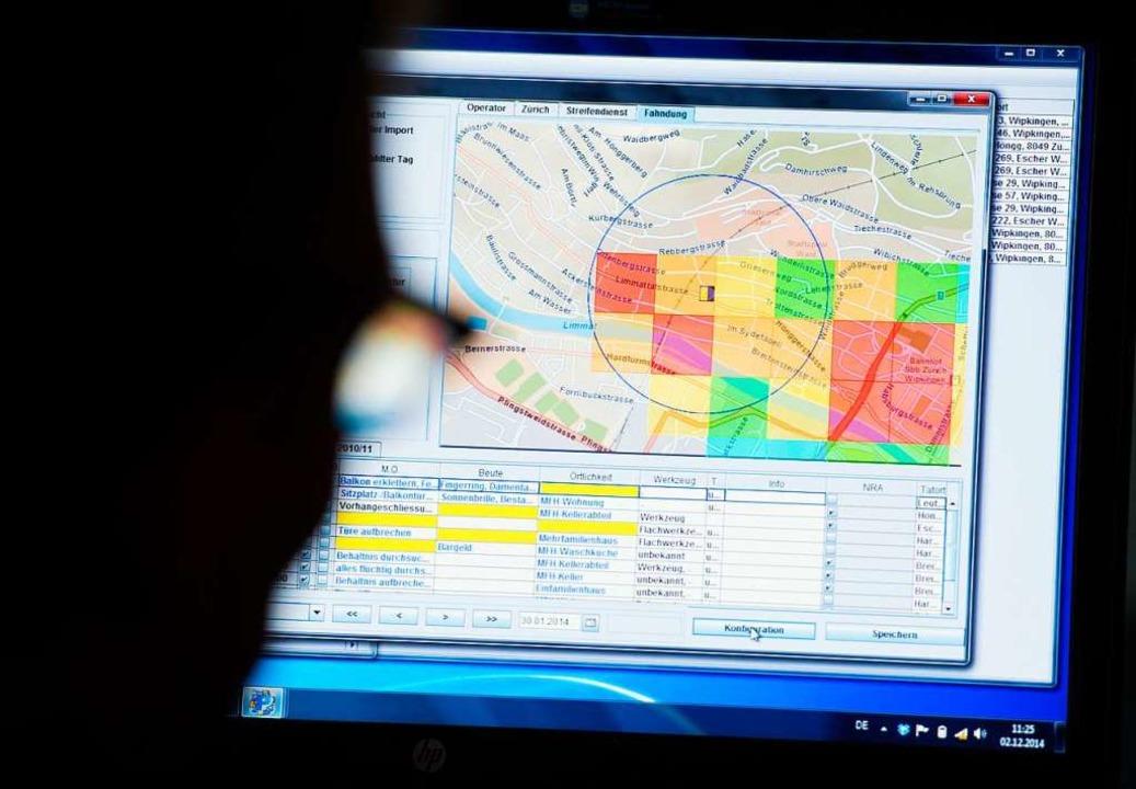 Mit Algorithmen wird in einigen Gegend...er nächste Einbruch stattfinden könnte  | Foto: Bernd Thissen