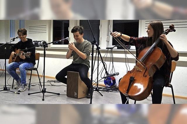 Jungmusiker zeigen Gefühle