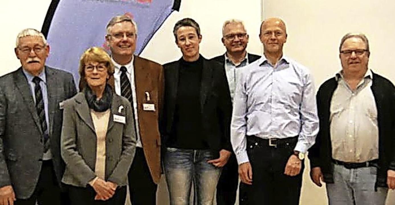 Otmar Hilfinger, Thomas Burgert, Jürge... Heinz-Wolfgang Spranger (von rechts).  | Foto: privat
