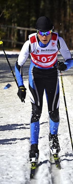 Luca Wehrle wurde in der Gesamtwertung Fünfter der U15.