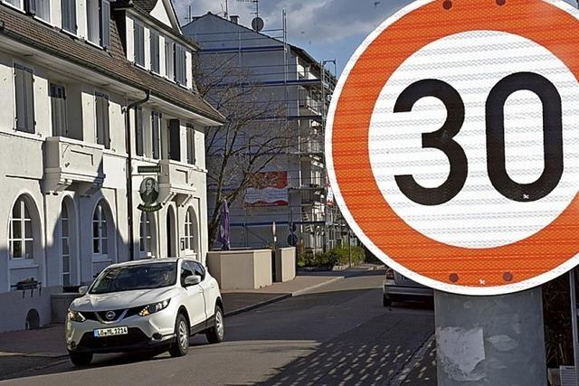 Tempo 30 in Bühl- und Turmstraße