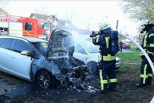 Autobrandserie verursacht fast eine halbe Million Euro Schaden