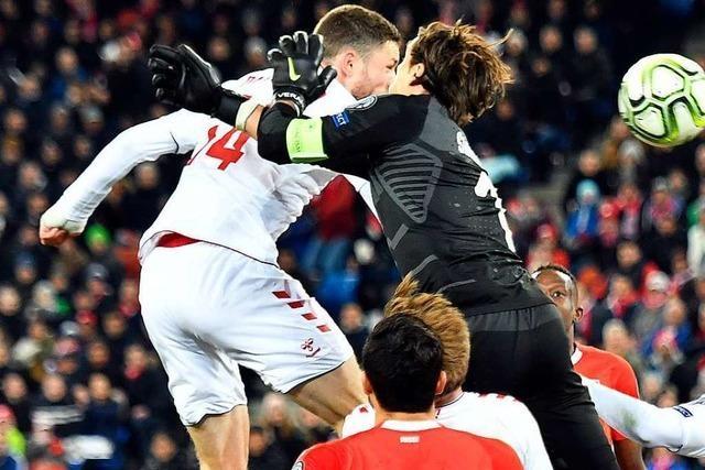 Schweiz führt nach 84 Minuten 3:0 gegen Dänemark – und verschenkt den Sieg