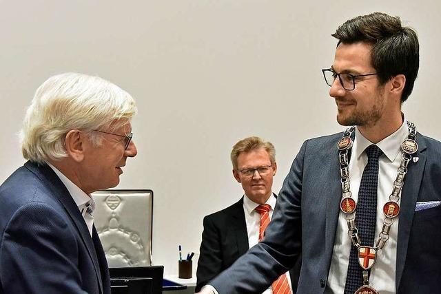 Martin Horn als Freiburgs Oberbürgermeister verpflichtet