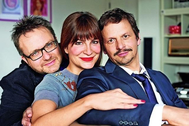 Mit Ben Streubel, Alexandra Kamp und Ronald Spiess in Titisee-Neustadt