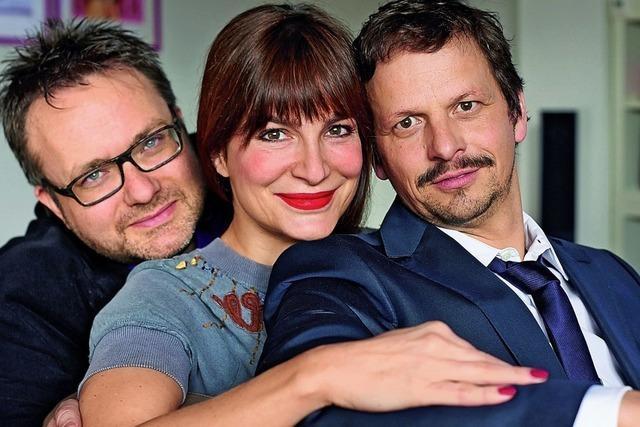 SWR3 Live-Lyrix in der Stadthalle Waldshut mit Alexandra Kamp, Ronald Spiess und Ben Streubel.