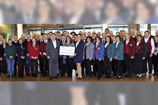 45 000 Euro für Musikvereine