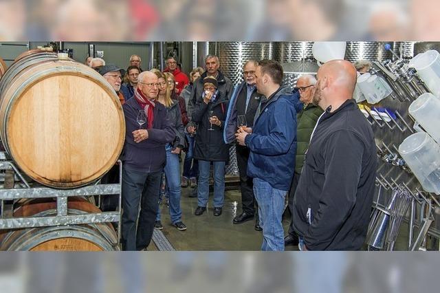 Zu Besuch im Weingut Isele