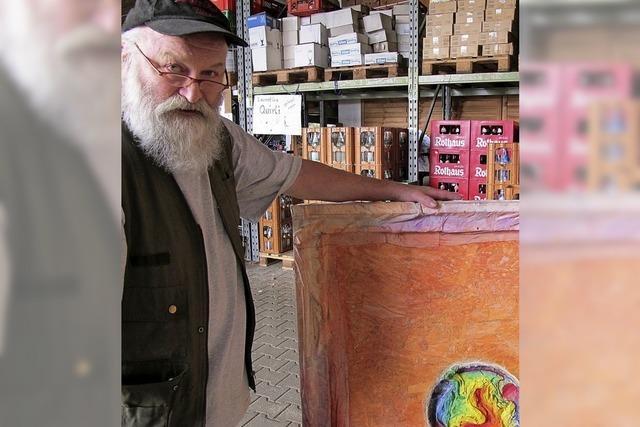 Getränkehändler und Kunstmaler