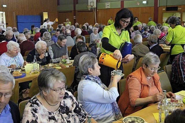 Unterhaltsames Programm für 300 Senioren
