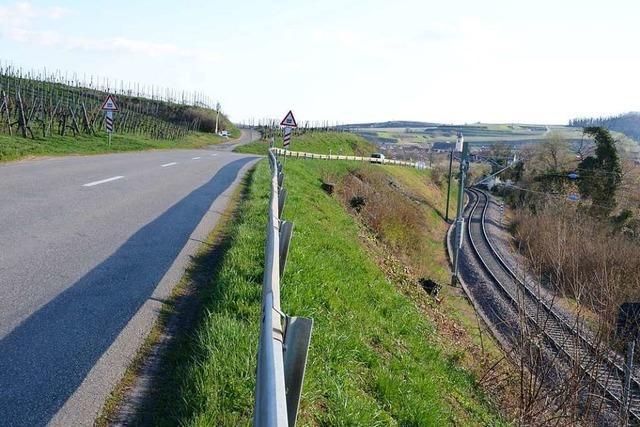 Straße zwischen Sasbach und Jechtingen wird später ausgebaut