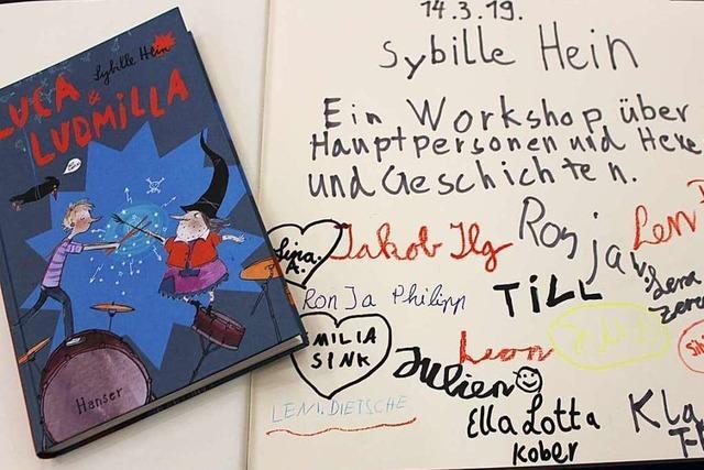 Zisch-Aktionstag mit Autorin Sybille Hein im Freiburger Literaturhaus