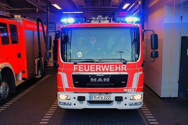 Video: So rückt die Freiwillige Feuerwehr in Freiburg aus