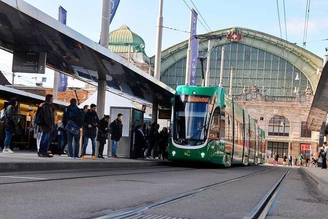 Der Centralbahnplatz beim Bahnhof SBB wird zur Großbaustelle