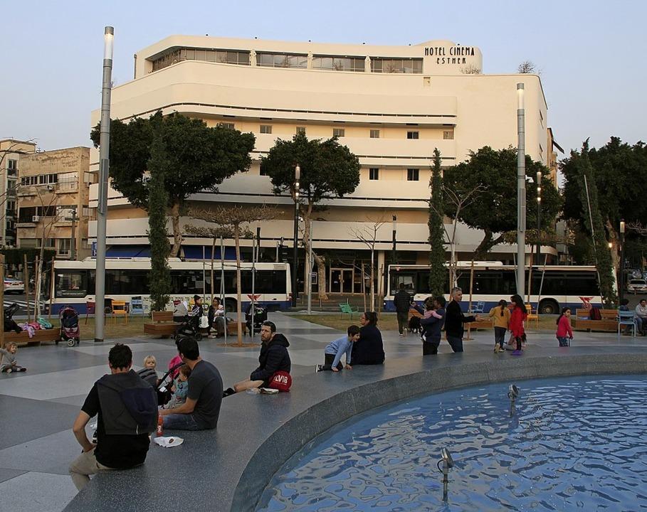 Übernachten à la Bauhaus:  Hotel Cinema in Tel Aviv  | Foto: Winfried Schumacher