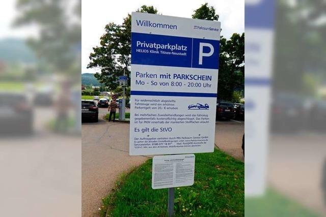 Klinikbesucherin zieht Parkschein und soll trotzdem 85 Euro zahlen