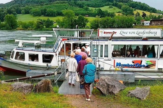 Die Laufenburger Schifffahrt schlingert