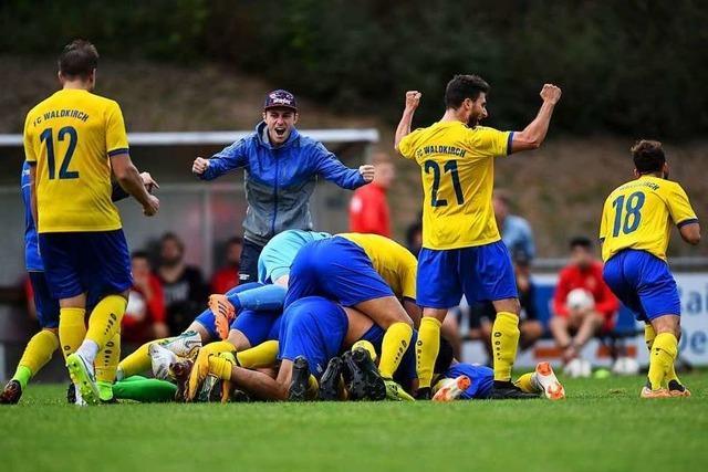 Bloß nicht vom eingeschlagenen Weg abkommen, FC Waldkirch