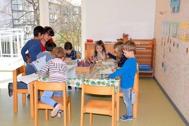 Kindergarten St. Anna bietet im neuen Anbau Platz für sechs Gruppen