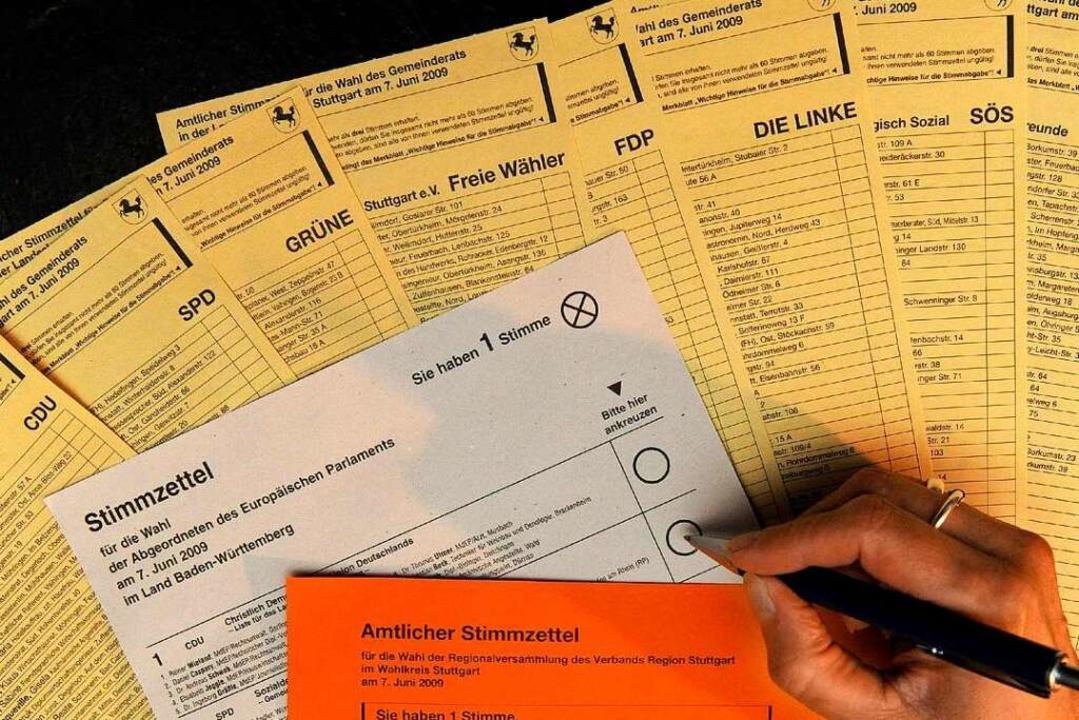 Neben der Kommunalwahl findet am 26. Mai auch die Europawahl statt.  | Foto: dpa