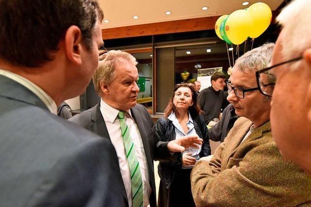 Umweltminister Untersteller spricht in Denzlingen über Windkraft und Klimaschutz