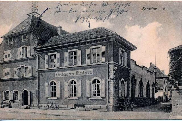 Wird das einstige Horcher-Areal in Staufen wieder bebaut?