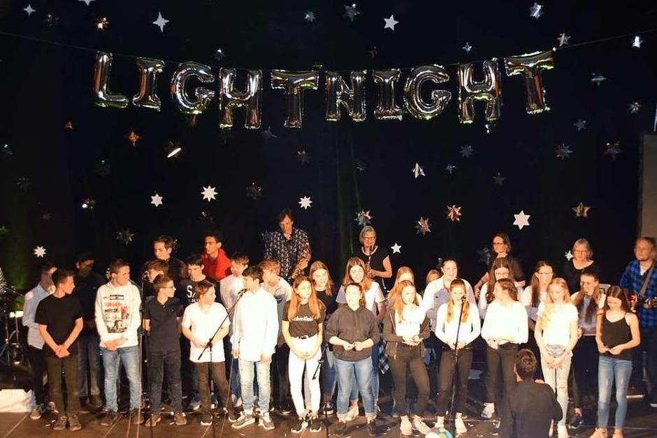 Beim Kulturabend zeigten Schüler der Realschule am Giersberg ihre vielseitigen Talente. <?ZP?> <?ZP?> (Foto: Sarah Nöltner)