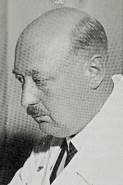 Professor Adolf Bacmeister  | Foto: Repro: Thomas Mutter