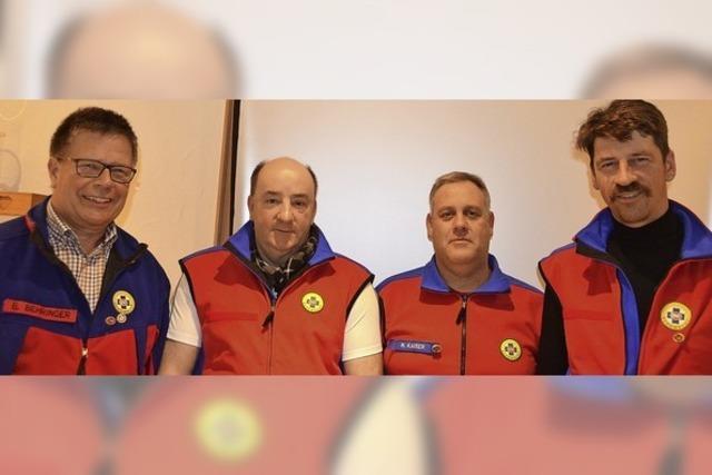 Bergwacht ehrt langjährige Unterstützer