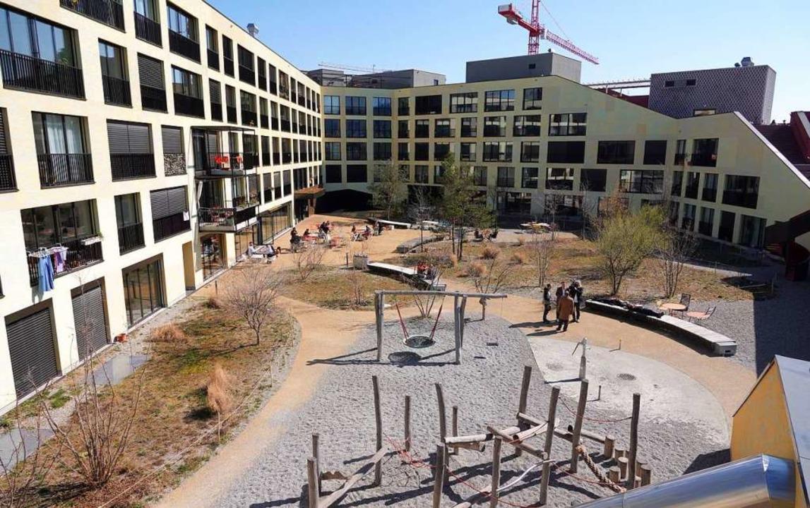Genossenschaftliches Wohnprojekt mitten in Zürich – die Kalkbreite  | Foto: dpa