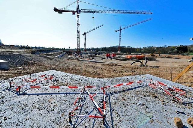 Mit dem Stadion im Wolfswinkel wird der SC in neue Dimensionen vorstoßen
