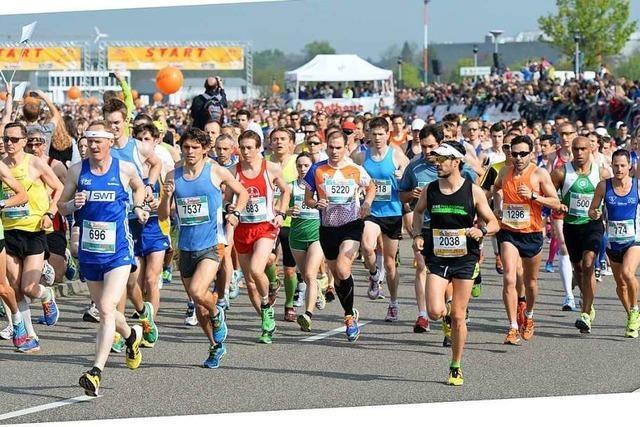 Christoph Keller ist alle 15 Freiburger Marathons gelaufen