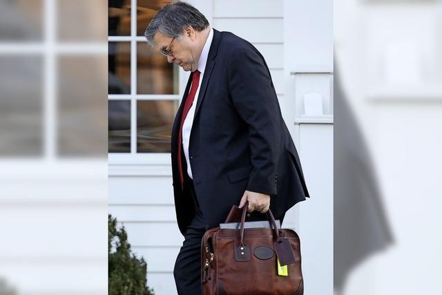 Mueller-Report soll publik werden