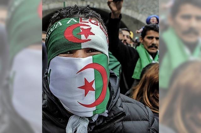 Algeriens Opposition will Regime stürzen