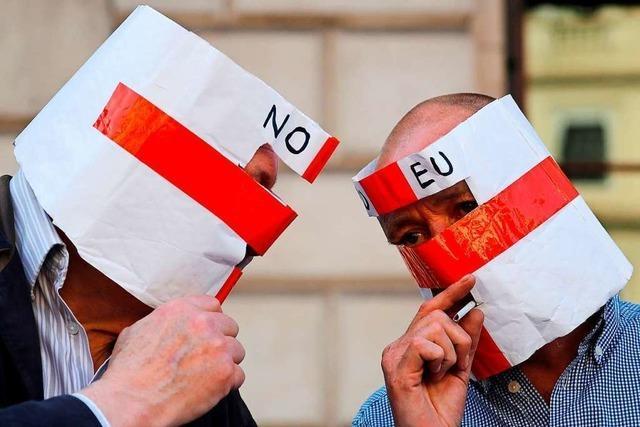 Ein harter Brexit ist schlimm, endloses Gewürge ist schlimmer