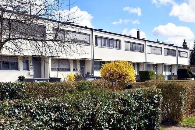 Karlsruhe Dammerstock ist im Geist des Bauhauses entworfen