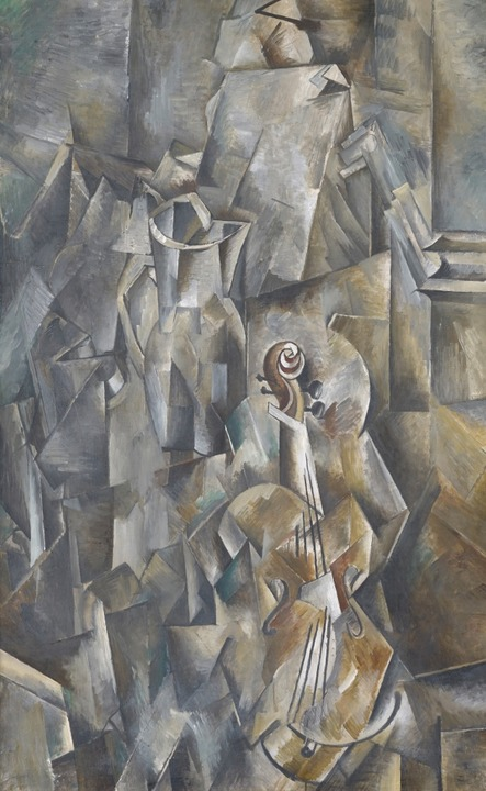 Georges Braque: Violon et Broc  | Foto: Kunstmuseum