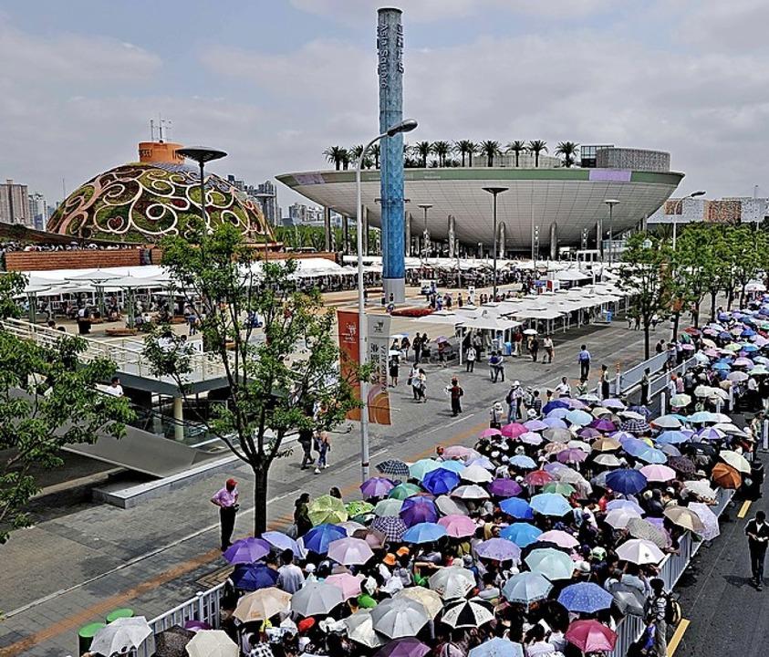 Bei der Expo in Shanghai 2010 war Freiburg auch schon vertreten.   | Foto:  AFP